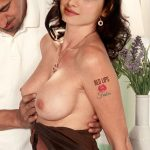 Naked actress Tamanna Boobs Pressed after shooting hot pic