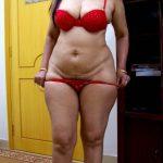 Nude red bra Lakshmy Ramakrishnan removing her panties naked stripper