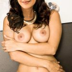 Kajal Aggarwal topless boobs nude navel in white panties