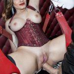 MILF Raveena Tandon enjoying a hard anal fuck on her new sex swing