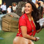 Preity Zinta showing her nude ass and pussy at ipl ground