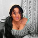 Hot Jyothika deep cleavage low neck dress exposed pic