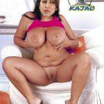 Sonarika bhadoria BBW NUDE pressing her big boobs shaved pussy show spreading her leg
