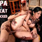 Deepa Venkat anal sex naked ass hole fucked spreading her leg shaved pussy