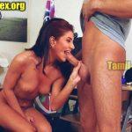Rukmini Maitra nude blowjob photo sucking nude cock