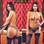 Rukmini Maitra topless nude boobs naked ass pose