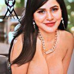 Ashu Reddy big boobs nude nipple image without bra