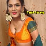 Meera Mitun nude cleavage low neck blouse private modelling image