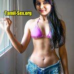 Site actress Subiksha hot bikini audition photo shoot nude navel exposed