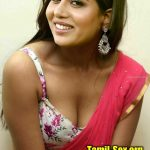 Raiza bending and showing her cleavage in hot blouse saree xxx latest image