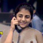 Bigg Boss Tamil Season 4 Gabriella nude boobs nipple no bra
