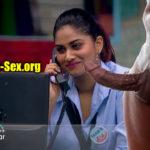 Rettai Roja Shivani Narayanan sucking Bigg Boss Tamil housemate cock