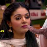 Sanam Shetty sucking Bigg Boss Tamil Season 4 housemate black cock