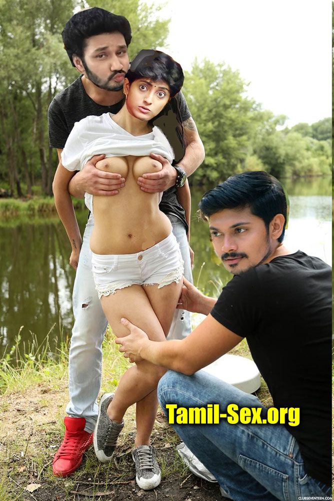 sathya Ayesha naked tv serial group sex with Co actor fakes