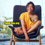 Cute Actress Rashmika one side boobs black nipple without bra