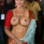 Actress Sneha big boobs nude mami open blouse fakes
