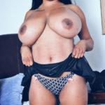 Topless big boobs VJ Archana showing her panties xxx fakes